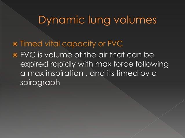  Aka pulmonary ventilation  Volume of air inspired or expired per minute  RMV = TV * RR ( 500* 12 = 6000 ml)  6 – 7.5 ...