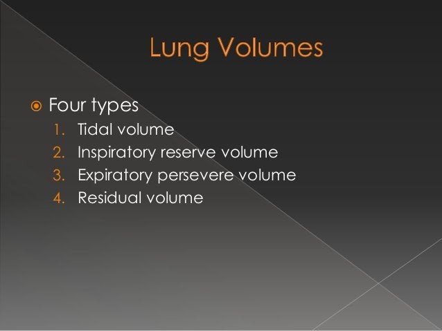  Normal volume of air inspired or expired during quiet breathing  TV = 500 ml