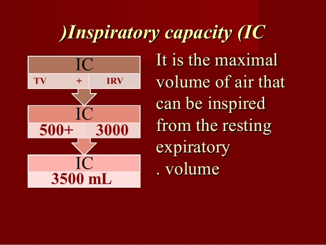 Functional residual capacity (FRCFunctional residual capacity (FRC(( It is the volume of air which remains in the lungIt i...