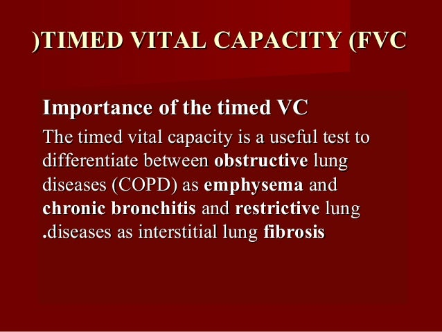 In obstructive lung diseases, the air wayIn obstructive lung diseases, the air way resistance is greatly increased, the vi...