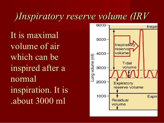 Expiratory reserve volume (ERVExpiratory reserve volume (ERV(( It is the maximalIt is the maximal volume of airvolume of a...
