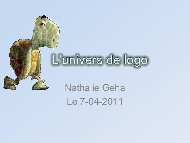 Nathalie GehaLe 7-04-2011