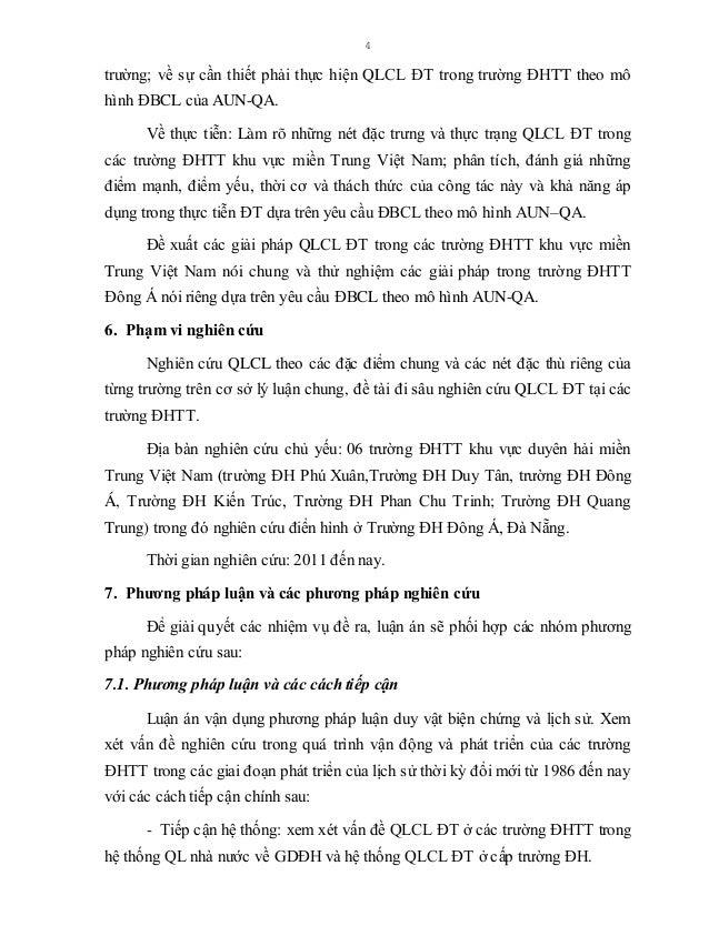 5 - Tiếp cận thị trường (cung - cầu): xem xét vấn đề QLCL ĐT ở các trường ĐHTT trong các mối quan hệ tác động qua lại giữa...