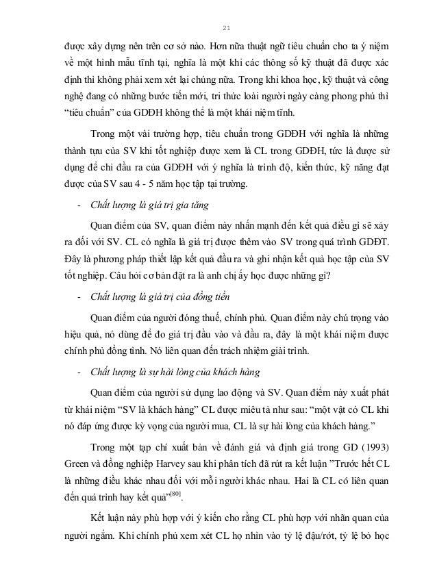 22 và thời gian học tập, CL dưới con mắt chính phủ có thể miêu tả như là càng nhiều SV kết thúc chương trình theo đúng thờ...