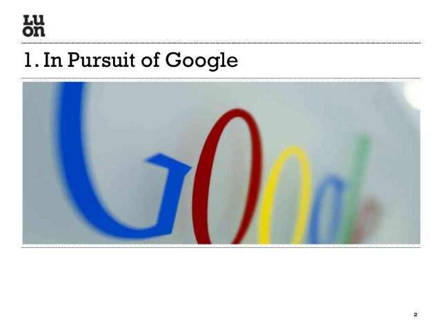LUON WassUp Recap March 2013 - 1. the search landscape Slide 2