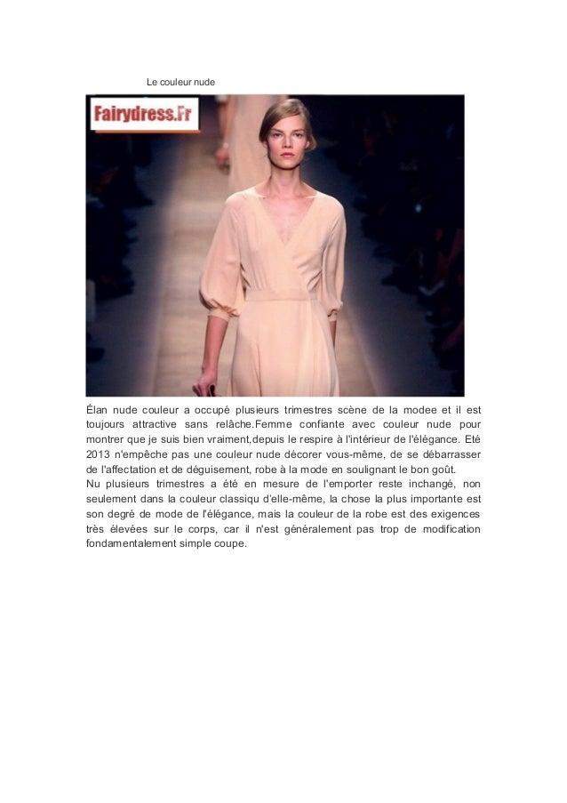 Le couleur nude Élan nude couleur a occupé plusieurs trimestres scène de la modee et il est toujours attractive sans relâc...