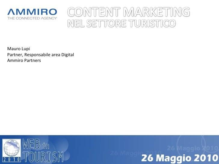 Mauro Lupi Partner, Responsabile area Digital Ammiro Partners