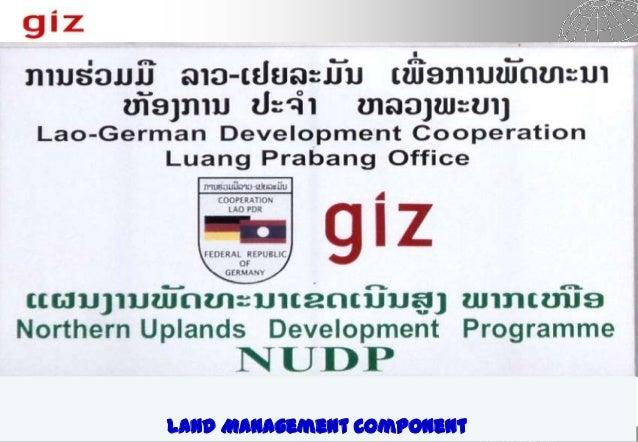 Land Management Component
