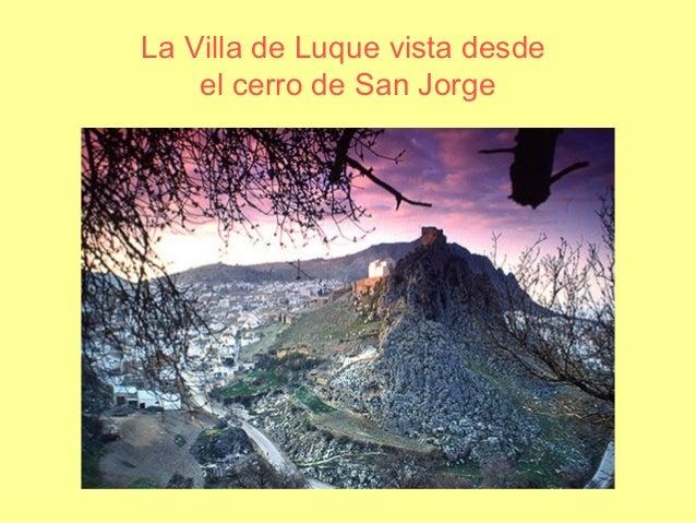 La Villa de Luque vista desde el cerro de San Jorge