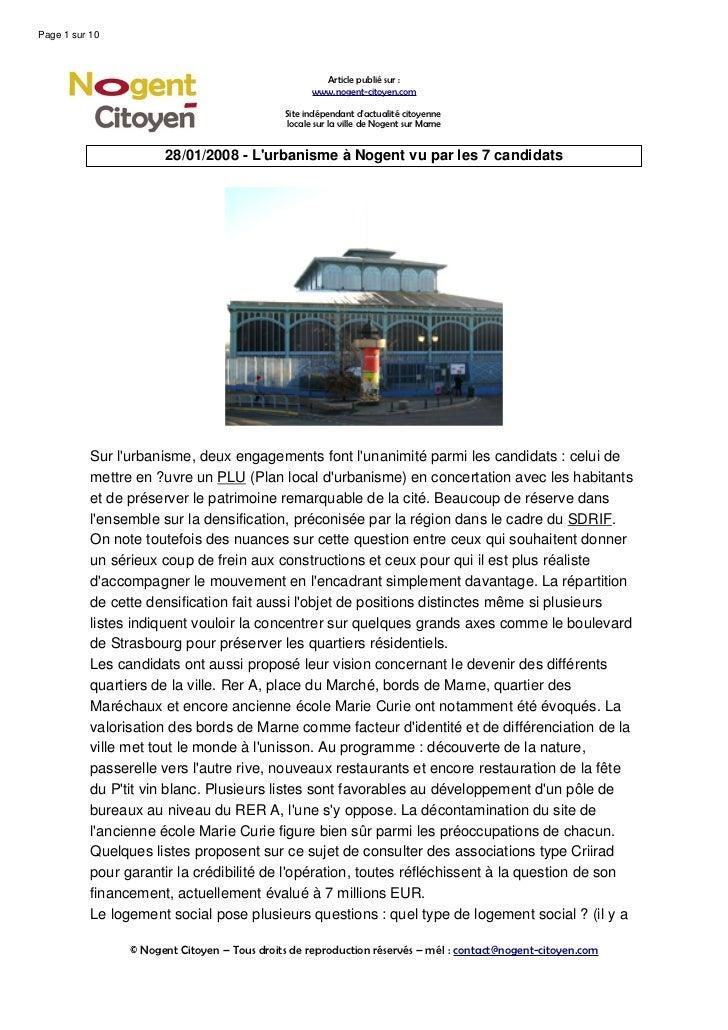 Page 1 sur 10                                                      Article publié sur :                                   ...