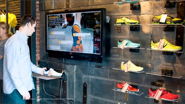 New Balance + Almighty / The AdClub / Lures of Retail / Shoe Wall / Installation