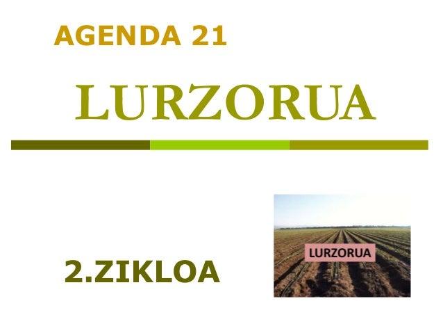 LURZORUA AGENDA 21 2.ZIKLOA
