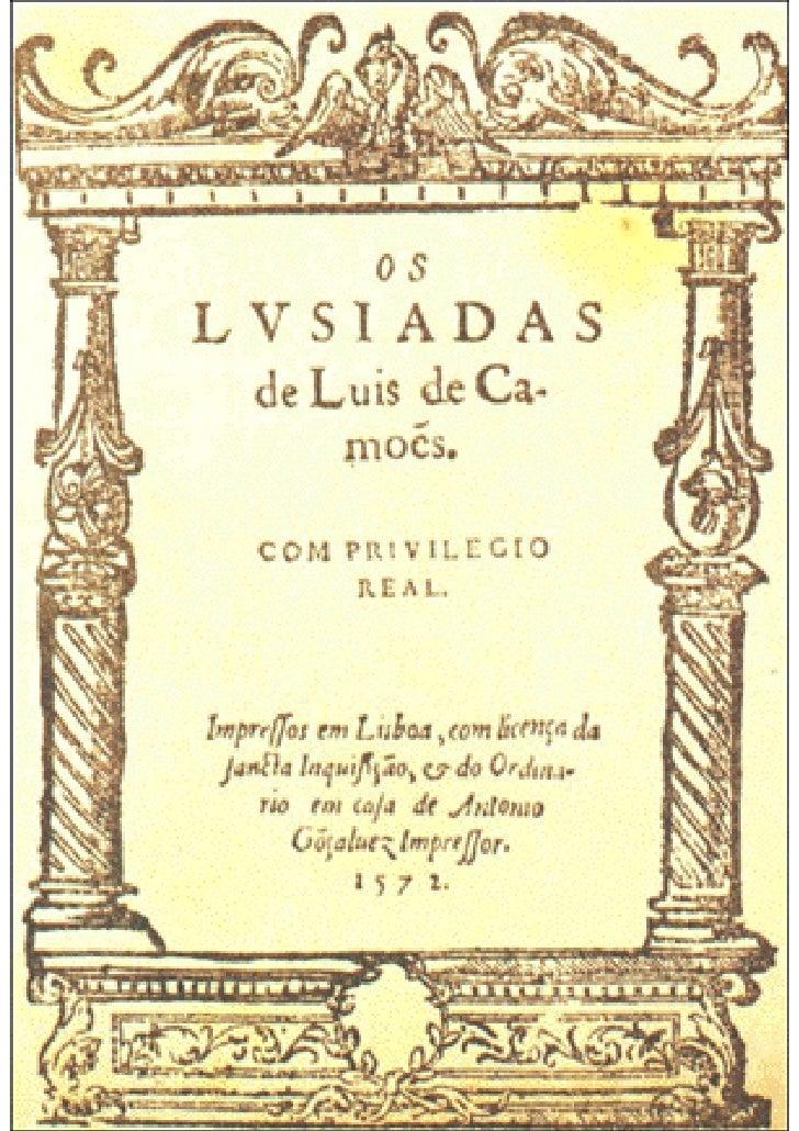 Luís Vaz de Camões                      Os Lusíadas ____________________________________________________     Canto Primeir...
