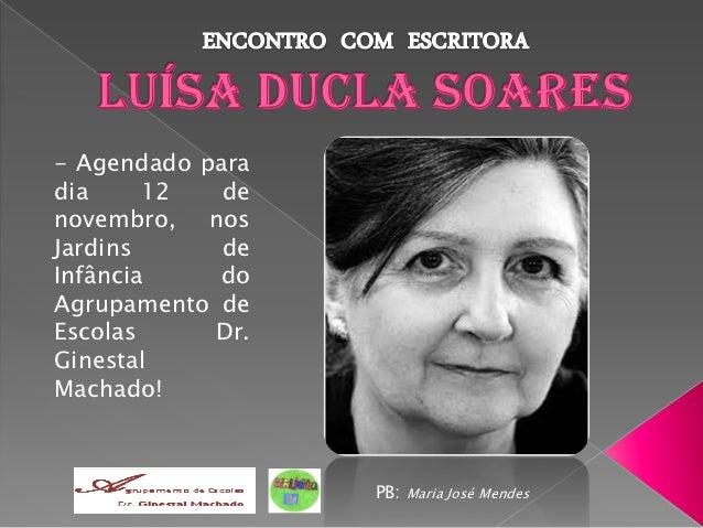 - Agendado paradia     12   denovembro, nosJardins      deInfância    doAgrupamento deEscolas     Dr.GinestalMachado!     ...