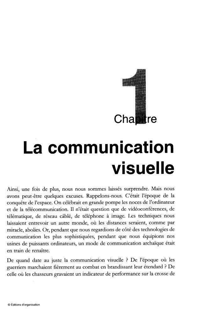 La communication visuelle Fig. 1-1 - Deux usines, deux modes de communication Poursuivons notre enquête dans l'atelier vis...