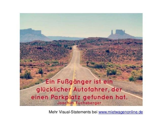 Mehr Visual-Statements bei www.mietwagenonline.de