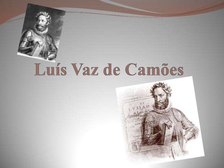 Luís Vaz de Camões<br />
