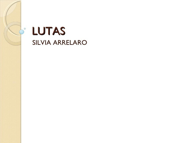 LUTAS  SILVIA ARRELARO