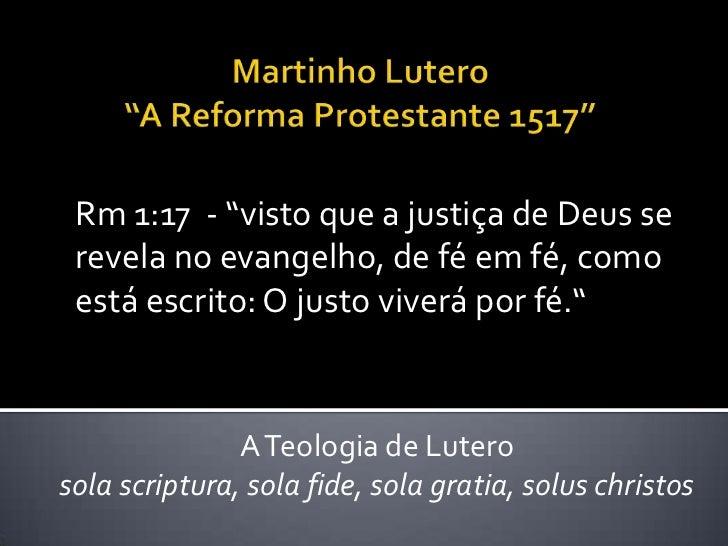 """Rm 1:17 - """"visto que a justiça de Deus se revela no evangelho, de fé em fé, como está escrito: O justo viverá por fé.""""    ..."""