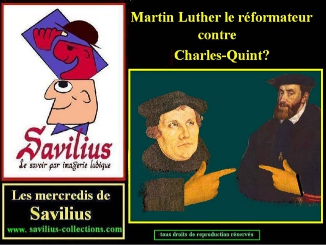 Luther contre charles quint