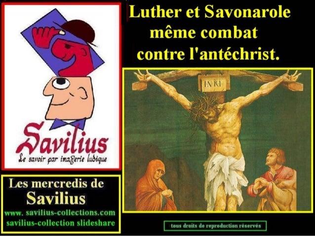 Luther et Savonarole contre l'antéchrist