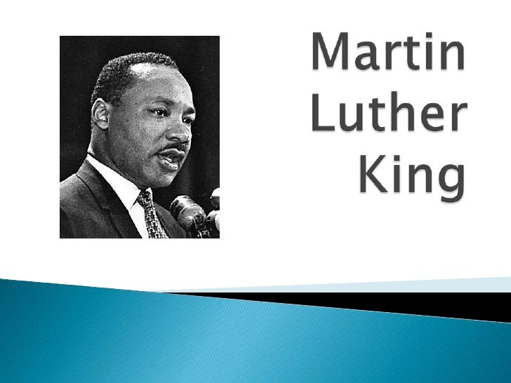 differences between martin luther king and
