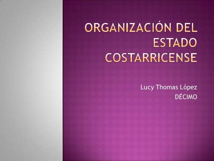 Lucy Thomas López          DÉCIMO