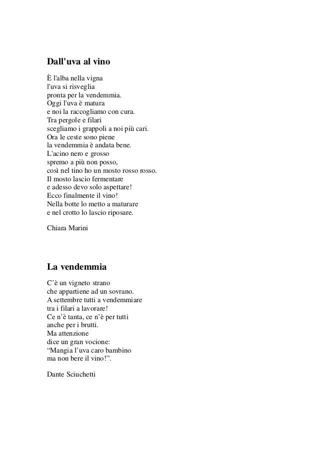 Extrêmement L'uva dalla terra alla tavola: i nostri testi JV98