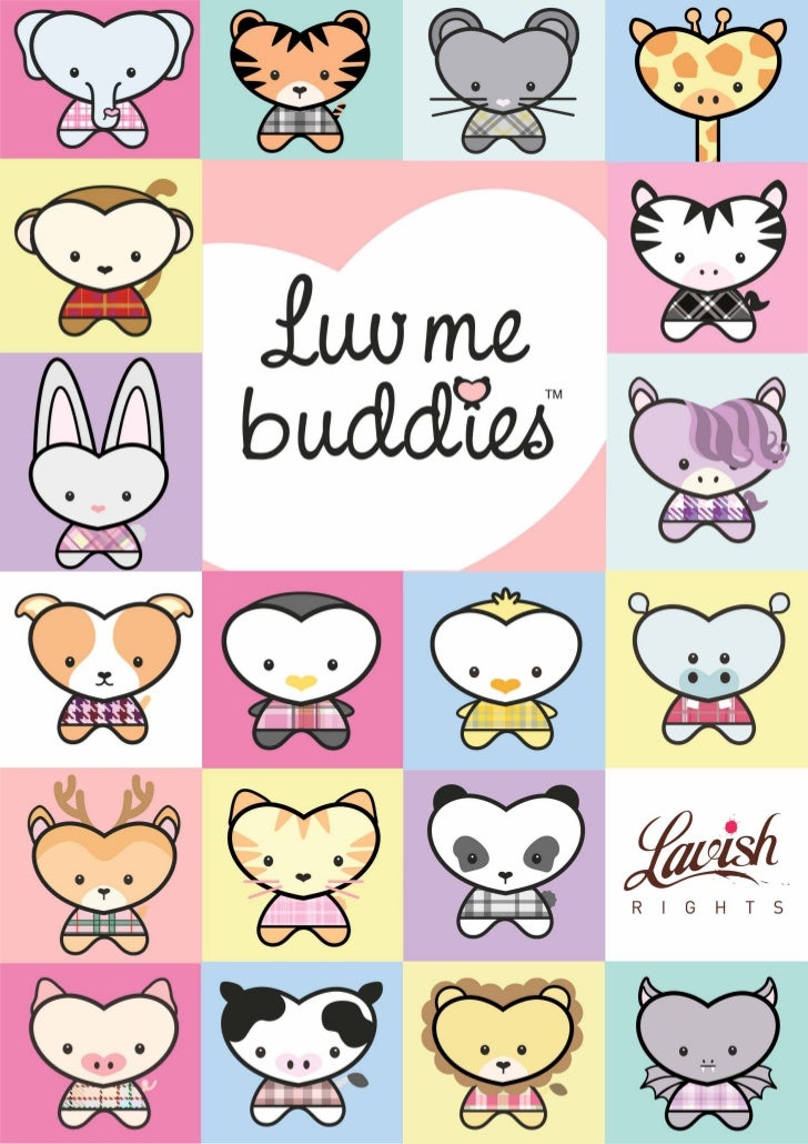 You can never have enough buddies!   Multi-platform, Social Expression brand –   Celebrating friendship, between girls and...