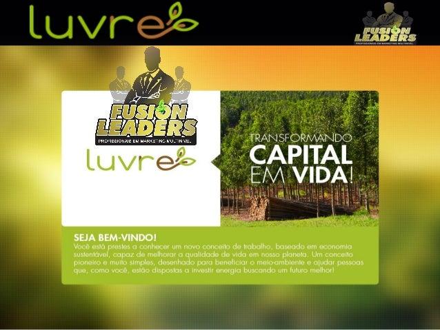 Apresentação Luvre detalhada - Rede Luvre inteligente - www.redeluvreinteligente.com