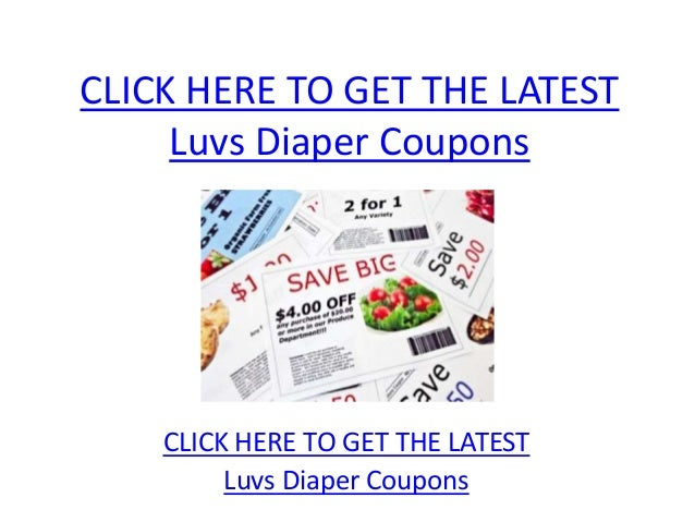 picture regarding Luvs Printable Coupons named Luvs Diaper Coupon codes - Printable Luvs Diaper Discount coupons