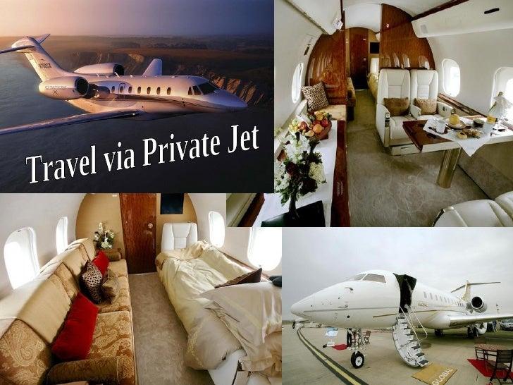 Travel via Private Jet