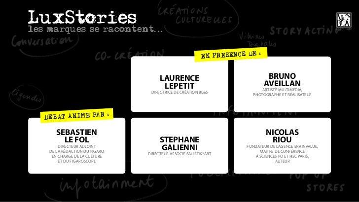 LuxBox  Groupe Figaro  LuxStories 29 mars 2011 Slide 2