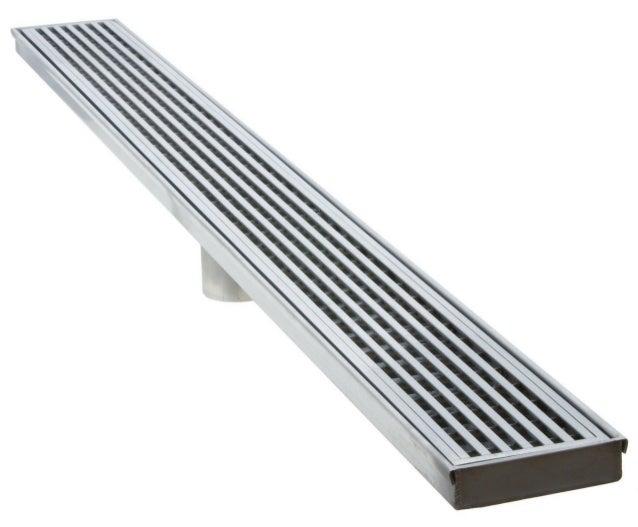 Luxe Linear Shower Drain Wedgewire