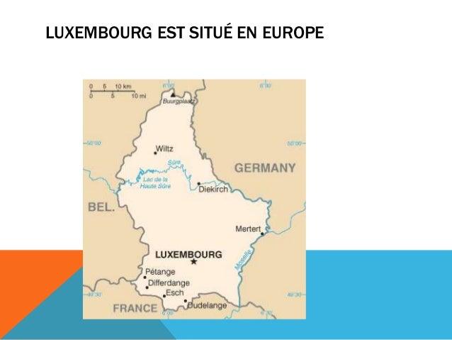 Luxembourg- une présentation Slide 2