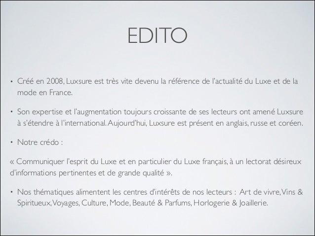 Luxsure kit média Slide 2