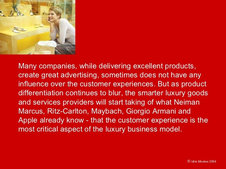 Many companies, while delivering excellent products, create great advertising, sometimes does not have any influence over ...