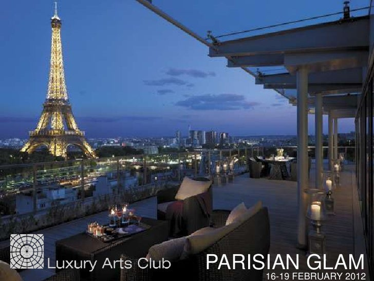 PARISIAN GLAM     16-19 FEBRUARY 2012