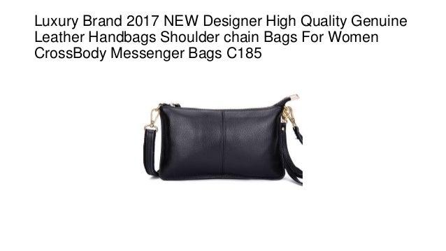 be7105f02da3 Luxury Brand 2017 NEW Designer High Quality Genuine Leather Handbags  Shoulder chain Bags For Women CrossBody ...