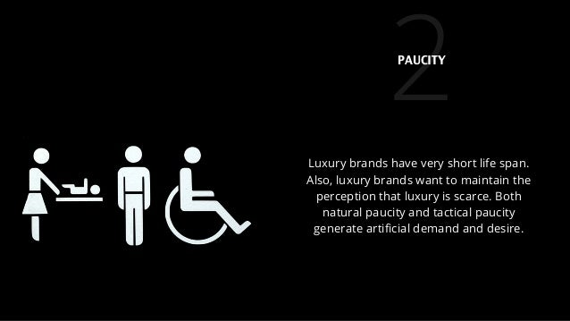 2 Luxury brands have very short life span. Also, luxury brands want to maintain the perception that luxury is scarce. Both...