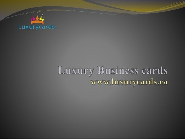 Luxury business cradsonline unique business cards we at luxury cards are offering you the top most classiest business cards which would colourmoves