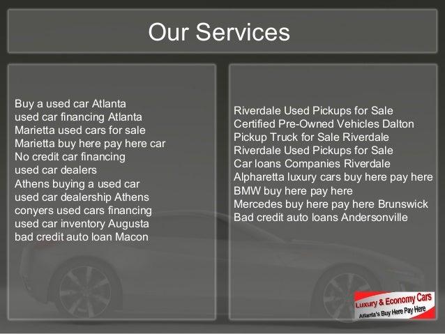Luxury Cars Buy Here Pay Here Ga