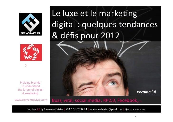 Le luxe et le markePng                                                                   digital : quelques...