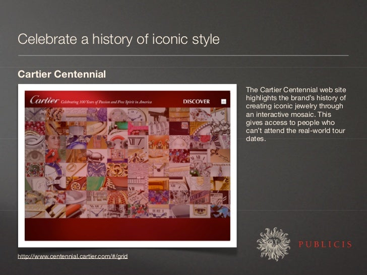Celebrate a history of iconic style  Cartier Centennial                                            The Cartier Centennial ...