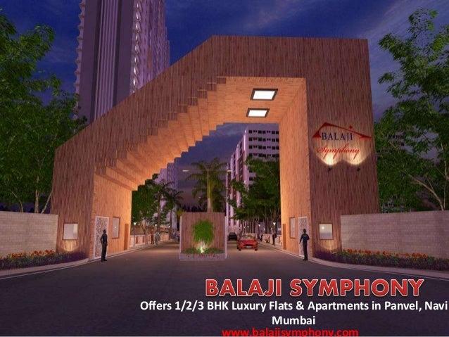 Offers 1/2/3 BHK Luxury Flats & Apartments in Panvel, Navi Mumbai www.balajisymphony.com