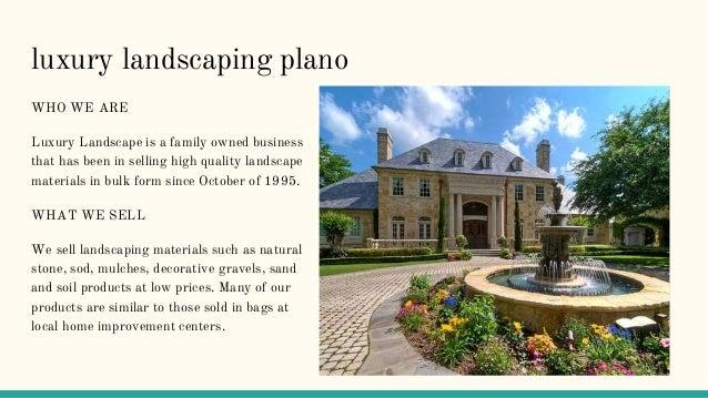 17. Landscape Designers; 18. Luxury Landscaping ...