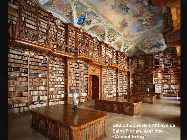 Bibliothèque de l'Abbaye de Saint-Florian, Autriche. ©Ahmet Ertug