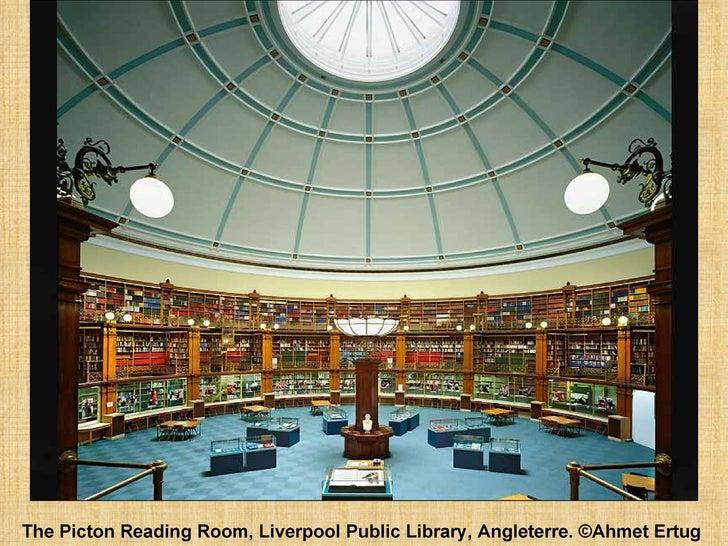The Picton Reading Room, Liverpool Public Library, Angleterre. ©Ahmet Ertug