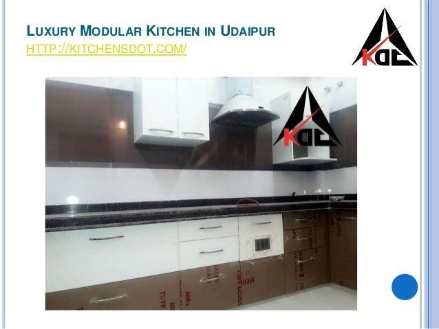 Luxury Modular Kitchen In Udaipur