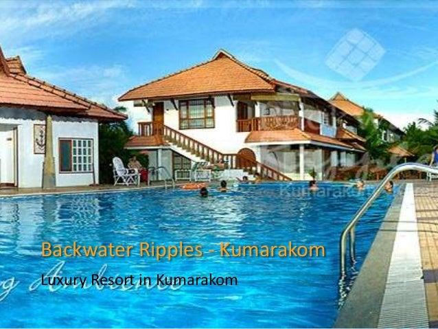 Backwater Ripples - Kumarakom Luxury Resort in Kumarakom